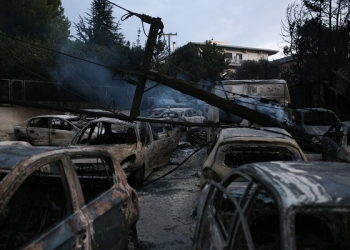The next day of the wildfire in Mati, Nea Makri, about 30 km east of Athens, East Attica, July 24, 2018. / Η επόμενη μέρα της πυρκαγιάς στο Μάτι της Νέας Μάκρης, Ανατολική Αττική, 24 Ιουλίου 2018.