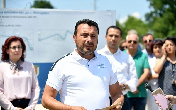Премиерот Заев пред новинарите во Битола, извор:Влада на Република Северна Македонија