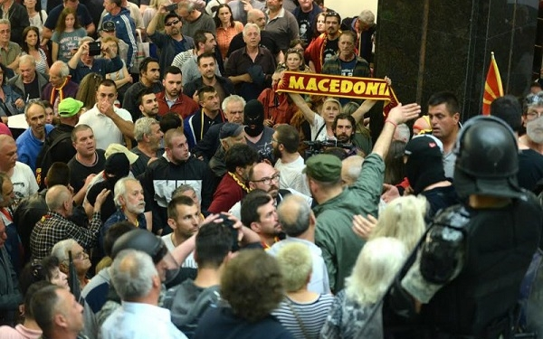 Напад на Собрание, 27 април 2017