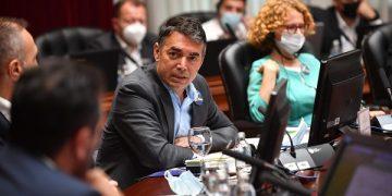 Вицепремиерот Димитров на тематска седница на Владата на Северна Македонија за 20 години од Рамковниот договор, извор: Влада на Северна Македонија