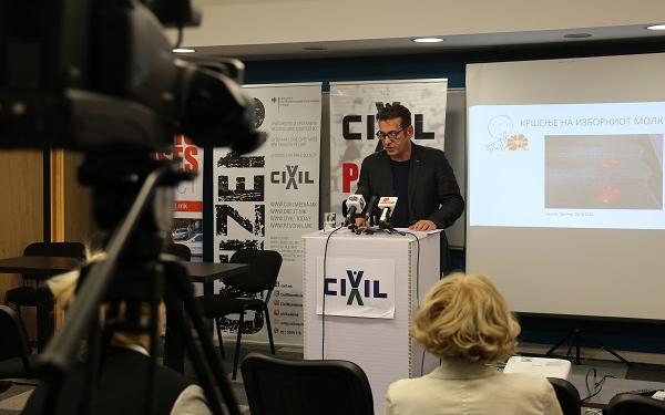 Џабир Дерала, ЦИВИЛ, прес конференција во 10:35