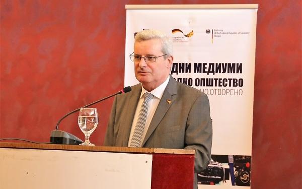 Н.Е. Амб. Томас Герберих / фото: Б. Јордановска/ЦИВИЛ