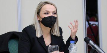 Маријана Рогожарска Поповска, Претседателката на Совет на општина Штип / фото: М.Муриќ, ЦИВИЛ