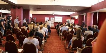 (од архивата на ЦИВИЛ) Конференцијата Македонски перспективи: Како до Европа, јули 2018. Фото: Б. Јордановска/ЦИВИЛ