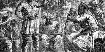 илустрација: Али Баба и 40-те разбојници
