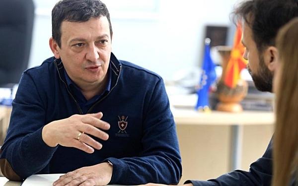 Боби Мојсоски, директор на КПД Идризово. / фотографијата е преземена од www.lokalno.mk