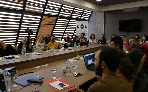 Семинар за граѓанско новинарство, Велес, февруари 2019, фото: Биљана Јордановска/ЦИВИЛ