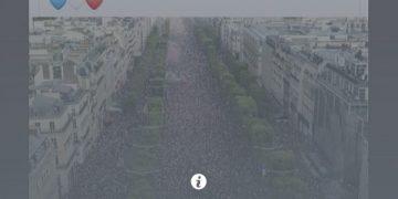 Фотографијата - лажна вест е блокирана од Фејсбук врз основа на укажувањето од независни проверувачи на фактите.