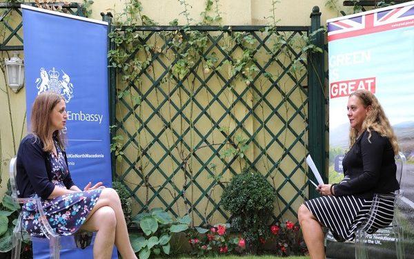 Британската амбасадорка Галовеј во интевју за МИА, фото: Фросина Насковиќ, МИА