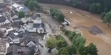 Поплави во Германија, јули 2021