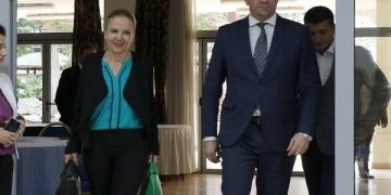 Мицкоски (десно) и Каракамишева (лево) / Фото: Киро Попов