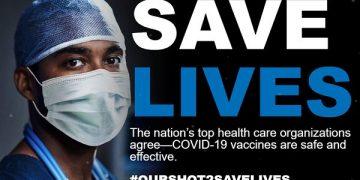 Една од кампањите во САД за поттикнување на вакцинирањето против Ковид-19 (скриншот од ourshot2savelives.org)