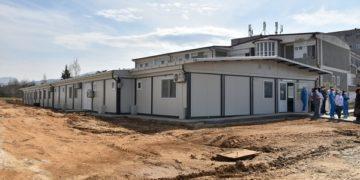 Модуларната болница во Прилеп по изградбата, извор: prilep.gov.mk