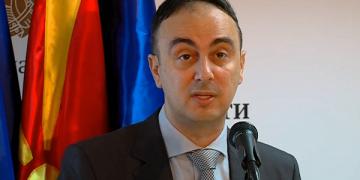 Наќе Чулев, технички министер, МВР
