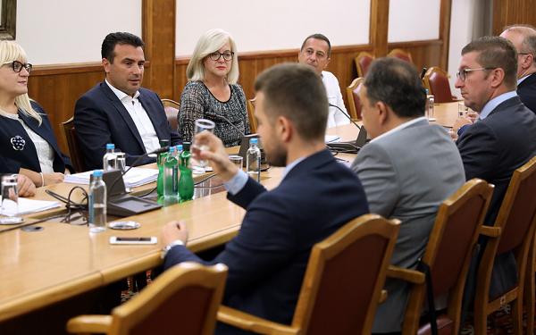 Преговори за законот за ЈО, Заев - Мицксоки
