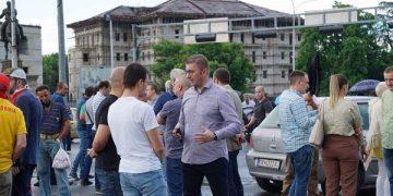 Протест на ВМРО-ДПМНЕ, 9 јуни 2021 (извор: ФБ профил на Христијан Мицкоски)