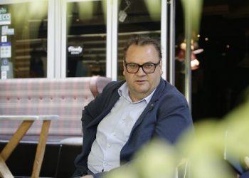 Роберт Алаѓозовски, Национален координатор за интеркултурализам, едно општество, развој на културата и меѓуресорска соработка (фото: И. Чадиноски / ЦИВИЛ)