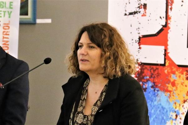 Сандра Пешевска Мицковска, активстка за правата на лицата со попреченост/ Фото: Г. Наумовски, ЦИВИЛ