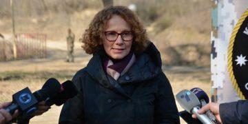 Радмила Шекеринска, министерка за одбрана/Фотогтафија Д. Муратов, ЦИВИЛ