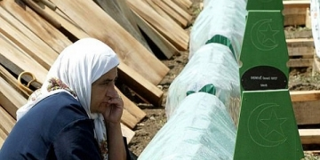 Гробовите на Сребреница