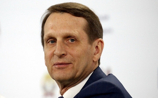 epa05101320 Sergey Naryshkin, Speaker of Russian State Duma, attends the Gaidar Forum in Moscow, Russia, 14 January 2016. The Gaidar Forum, entitled 'Russia and the World: Looking to the Future', runs from 13 to 15 January.  EPA/MAXIM SHIPENKOV