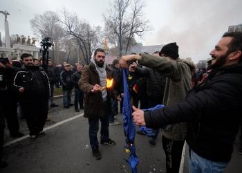 (архива) Протест на радикалите, 21 декември 2018. Фото: А. Стаматиу/ЦИВИЛ