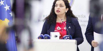 Вјоса Османи, претседателка на Косово
