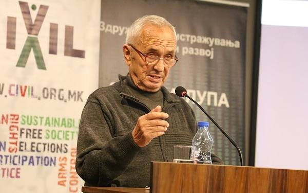 Џевдет Хајредини / фото: Б. Јордановска/ЦИВИЛ