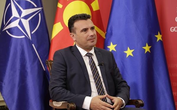 Зоран Заев, претседател на Владата на Северна Македонија/Фото: Б.Јордановска, ЦИВИЛ